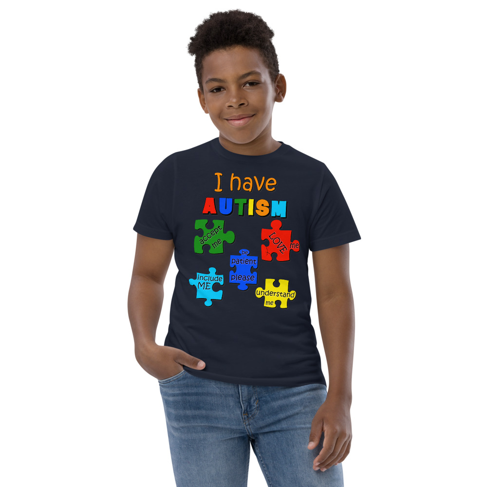 Autism Puzzle Youth T-Shirt